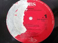 """Raphael Las Apariencias Engañan 1988 LP vinyl 12 """" Solo El vinyl Sin Ordner"""