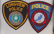 Longview & City of Fritch Texas Police patches