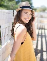 Unisex Fedora Trilby Straw Hat Gangster Cap Summer Beach Sun Panama Jazz Hat