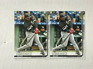 ELOY JIMENEZ LOT OF 5 2019 Topps Update Debut ROOKIE RC's #US243! CHECK MY ITEMS