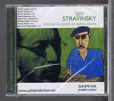STRAVINSKY CD NEW HISTOIRE DU SOLDAT ET AUTRES PIECES MICHEL LETHIEC