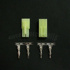 10 pares Macho Hembra Verde Mini Tamiya Enchufe Sin Cables Conector Airsoft RC