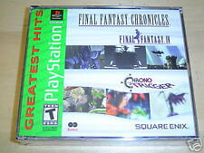 FINAL FANTASY CHRONICLES PLAYSTATION AMERICAN *NEW*