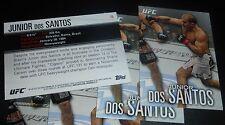 Junior Dos Santos UFC 2012 Topps Knockout Card #15 155 146 131 117 108 103 95 90