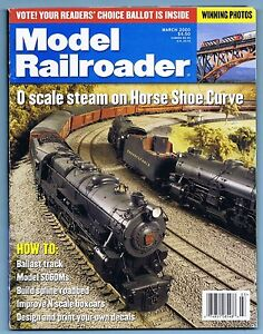 MODEL RAILROADER MAGAZINE, MARCH, 2000, VOLUME 67, NUMBER 3