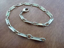 14k 14ct Solid Gold Bracelet. REDUCED 9.5inch / 23cm 11.05g