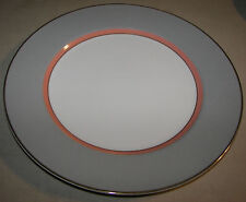 "Mikasa Round Serving Platter 12 1/8"" Grandeur Gray LAD01"