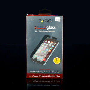 For iPhone 6 Plus iPhone 6s Plus ZAGG InvisibleShield Glass HD Screen Protector