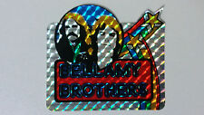 Bellamy Brothers country artist SMALL STICKER Vintage logo music