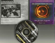 ERIC JOHNSON Boogie King / w/ RARE RAIN EDIT LIVE TRX PROMO DJ Radio CD Single