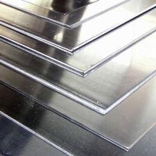 Lastra Pannello Alluminio Lamiera 2mm ,varie dimensioni e Taglio su misura