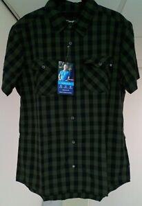 Berghaus EXPLORER 2.0 (( LAST ONE )) green gingham Men Large Shirt.NEW ITEM