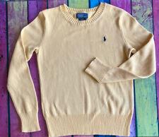 Ralph Lauren Yellow Sweater - Aged 8