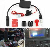 12V Car Truck Stereo Antenna FM AM Radio Inline  Signal AMP Amplifier Booster YS