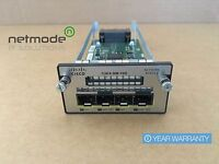 Cisco C3KX-NM-10G 4-Port 10 Gigabit SFP+ Network Module • 1 Year Warranty