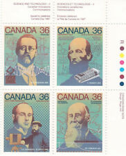 Science Canadian Stamps
