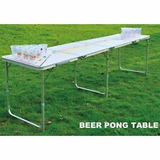 Professional 8ft Beer Pong Table Bucks Hens Bar Party Drinking Game