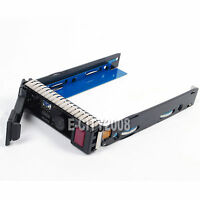 "3.5"" SAS SATA Hard Drive Tray Caddy For HP Proliant DL360e DL380E G8 /IC Chip"