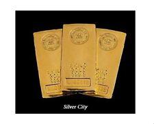 1 KILO ( 32.15 TROY OUNCES ) RCM .9999 FINE GOLD BAR