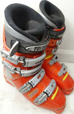 Pre-owned Used Orange Tecnica Corsa Ski Boots Mondo Size 26.5 Mens US size 8.5