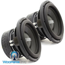 "(2) SUNDOWN AUDIO SA-10D4 REV.3 SUBS 10"" DVC 4 OHM LOUD PRO BASS SUBWOOFERS NEW"
