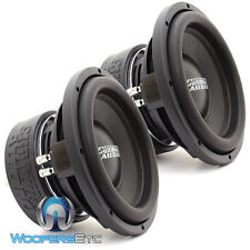 "(2) SUNDOWN AUDIO SA-10 V2 D4 1000W RMS SUBS 10"" DVC 4 OHM LOUD SUBWOOFERS NEW"