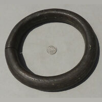 a heavy 2.5 lbs bronze decorated african bracelet ring nigeria #183