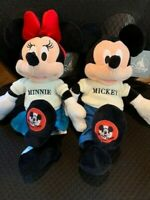Mickey & Minnie Mouse Plush, Mickey Mouse Club Small - Disney Park Exclusive NWT