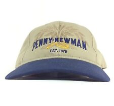 Penny Newman Grains Embroidered Baseball Cap Hat Adjustable Adult Size Cotton
