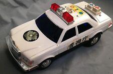 Japanese Ichiko police car mercedes benz TIN TOY Japan T0203