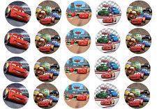 Mini Cialde ostie per cupcakes di CARS, torta, ostia, dolcetti