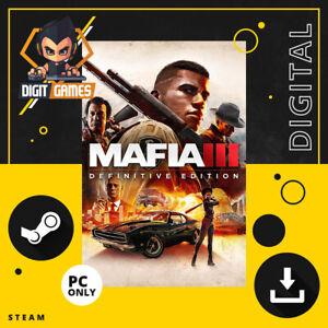 Mafia III 3 Definitive Edition - Steam Key / PC Game