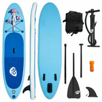 10' Inflatable Stand Up Paddle Board SUP W/ Fin Adjustable Paddle Backpack Sport