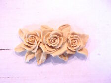 FURNITURE APPLIQUES * ROSE BOUQUET * PAINTABLE * STAINABLE
