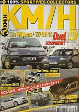 KM/H 3 CLIO WILLIAMS 309 GTI 16 MERCEDES 190E 2.5-16 FORD CORTINA LOTUS GOLF GTI