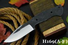 "9.2""OAL 1095 High Carbon Steel Blank Blade Hunting Knife Handmade I Full Tang (D"