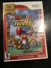 Mario Power Tennis (Nintendo Selects) - Nintendo Wii Brand New Factory Sealed
