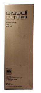 BISSELL 2746A ICONpet Pro Cordless Stick Vacuum Cleaner Titanium Black Wit