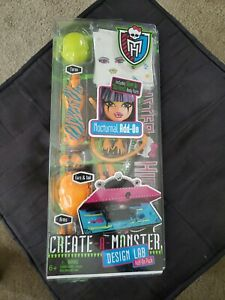 Monster High Create A Monster Nocturnal Doll Parts Add-On Pack NEW