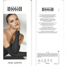 Wolford Fatal Sleeves - S small - weiss ... aus weichem Velvet Material