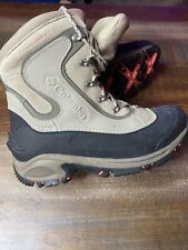 Columbia Omni Heat 200 Grams Waterproof Techlite Men's Tan Snow Boots Sz 12 USA