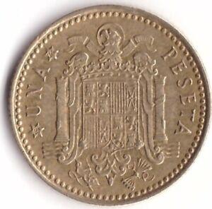 1 Peseta 1966 Spain Coin KM#796 - Franco Production Year 1974