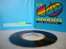 """YAZZ- ED/ ESPECIAL PARA LOS 40 PRINCIPALES Single Rare Promo Vinyl 7"""" Spain 1989"""