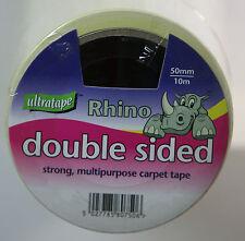 Ultratape Rhino Double Sided Tape Multi-purpose Strong Heavy Duty 50mm x10 meter