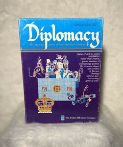 Diplomacy Board Game of International Intrigue - Avalon Hill 1976 COMPLETE