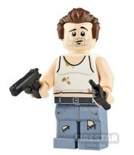 LEGO Custom Minifigure - John McClane - Printed Using Official Lego Parts