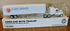 1/64 Ertl  BLACK & DECKER Ford LTL9000 Semi Truck Toy #T134  18 wheeler Die Cast