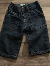 Baby Gap Boys Blue Jeans Size 3-6 Months Blue