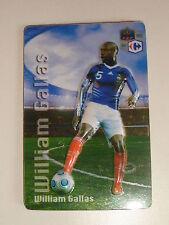 Magnet avec Relief William Gallas équipe de France de Football