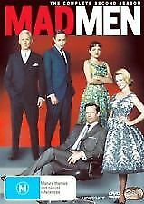 Mad Men : Season 2 (DVD, 2009, 3-Disc Set) LIKE NEW R4 DVD FREE POST